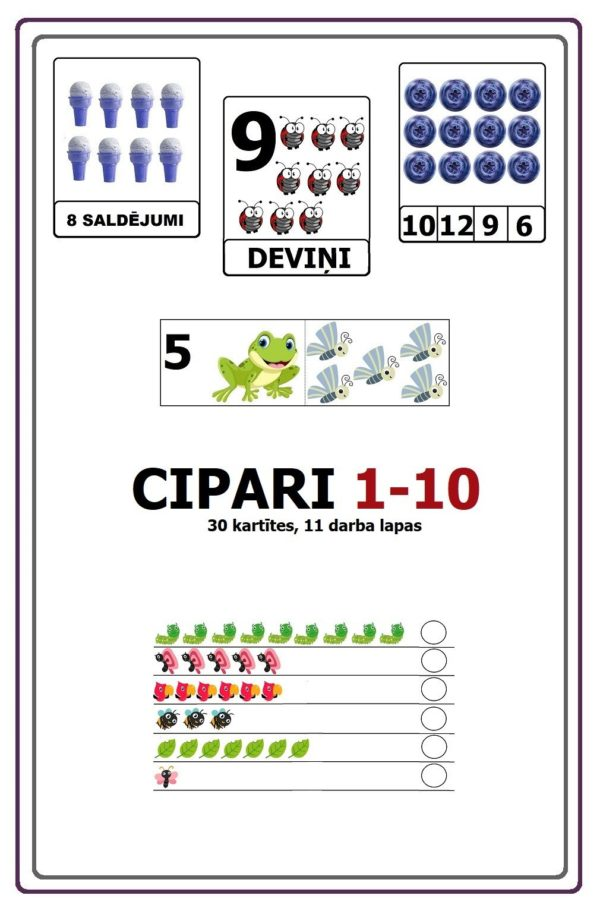 CIPARI NO 1-10