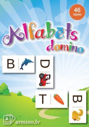 """Lielais domino """"Alfabēts"""""""