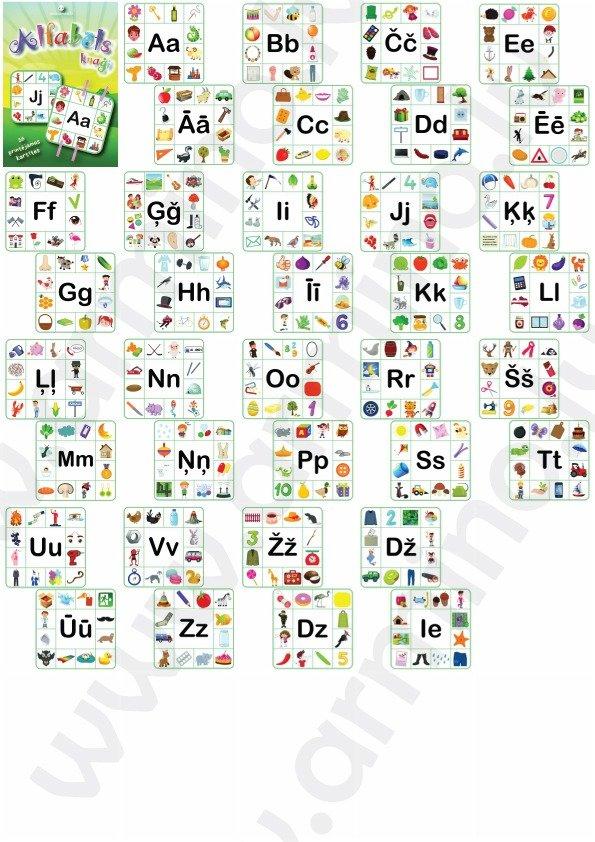 Alfabēta rāmji knaģiem