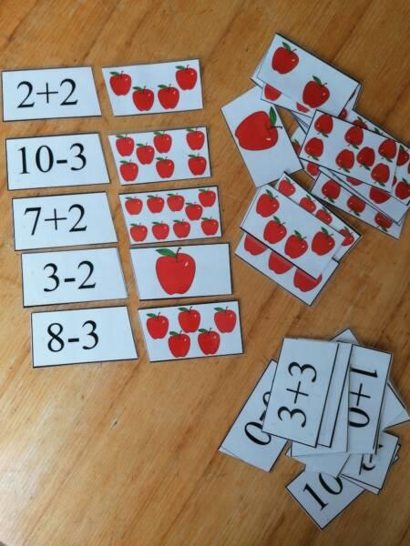 Matemātiskās darbības ar āboliem