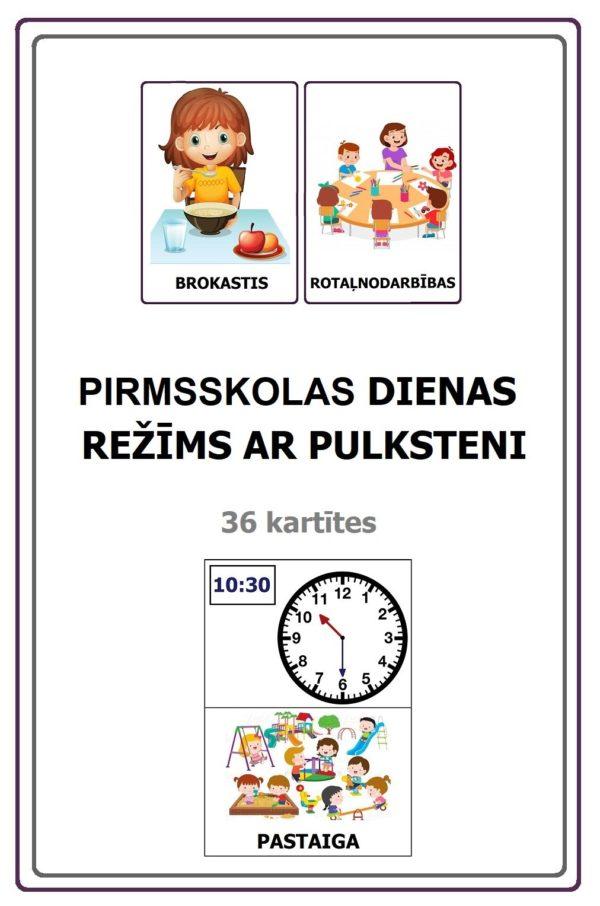 PIRMSSKOLAS DIENAS REŽĪMS