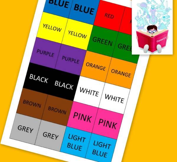 Krāsu atmiņas spēle