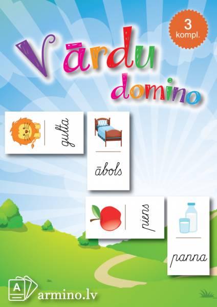 """Domino """"Rakstīto burtu vārdi"""""""