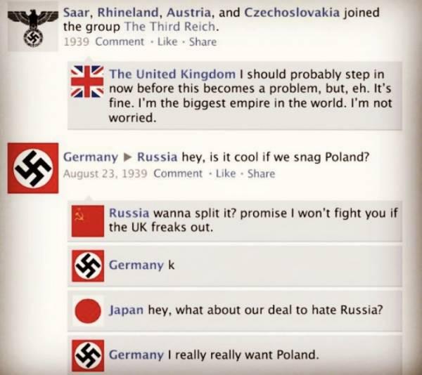 Ja Otrā pasaules kara laikā būtu bijis Facebook…