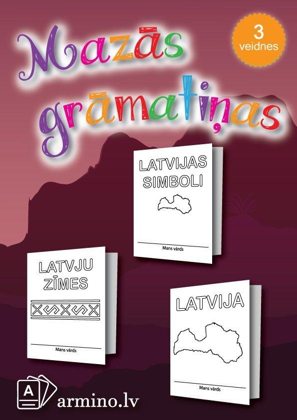"""Krāso un veido grāmatiņas """"Latvija"""""""