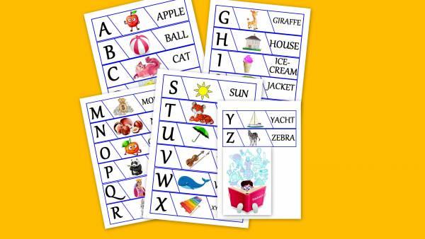 Alfabēta spēle angliski