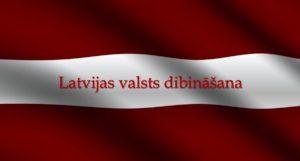 Ceļš uz Latvijas dibināšanu