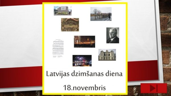 18.novembris – interaktīvs mācību līdzeklis