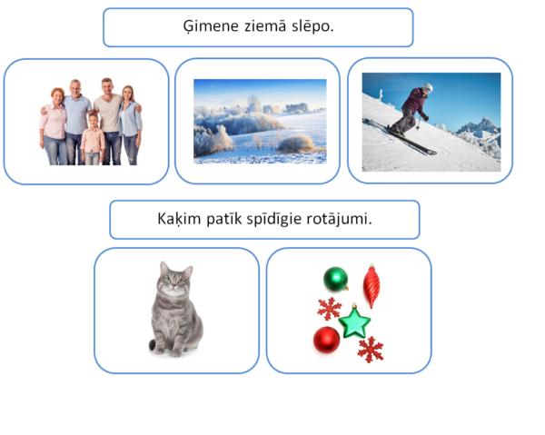 Teikumu veidošana: ziema