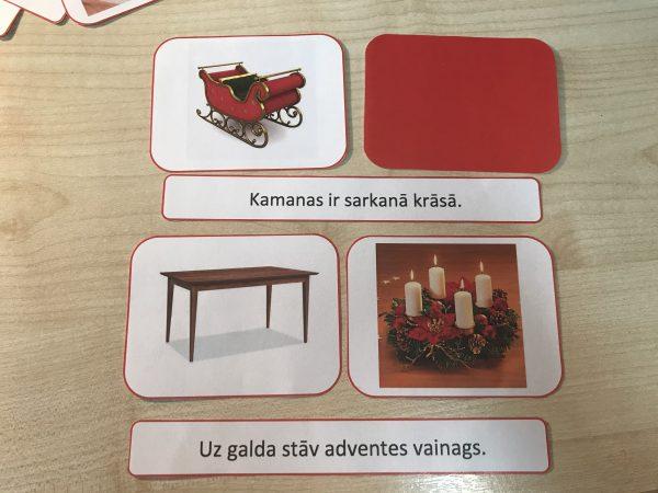 Teikumu veidošana: Ziemassvētki