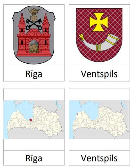 Latvijas Republikas pilsētu ģerboņi