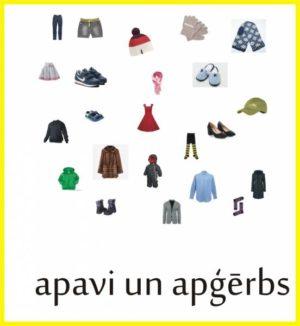 Apģērbs un apavi – definīciju grāmatiņa