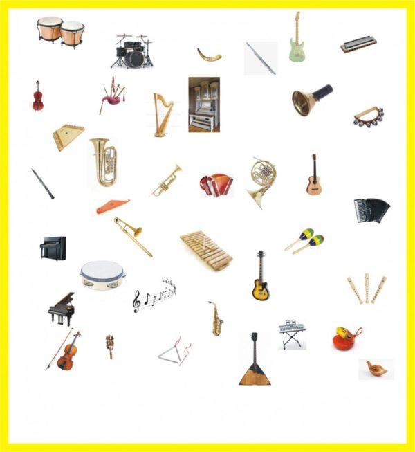 Mūzikas instrumenti – definīciju grāmatiņa
