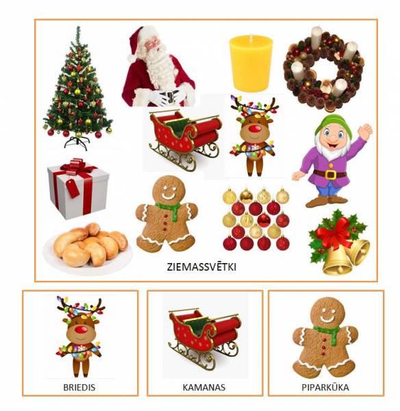 Vārdu krājums-Ziemassvētki