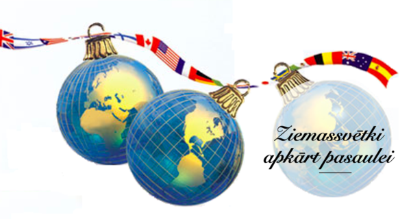 Ziemassvētki apkārt pasaulei!