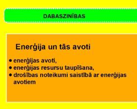 Enerģija un tās veidi