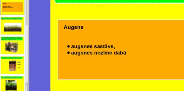 Augsne