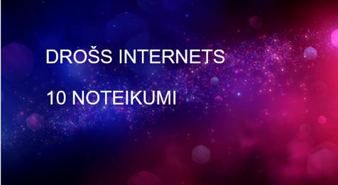 Drošs internets – powerpointa materiāls