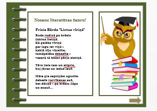 Literatūras žanri