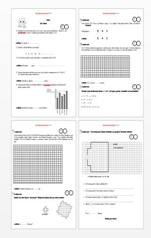Matemātikas olimpiāde 3.klasei