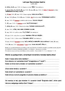 Teātra afiša. DL apzinātas lasītprasmes pilnveidei