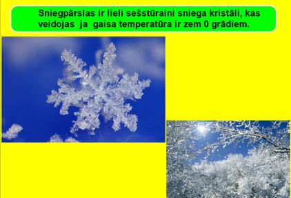 Dabas parādības ziemā