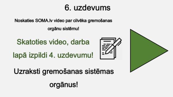 Cilvēka orgānu sistēmas (1. daļa) (2. – 3. kl.)