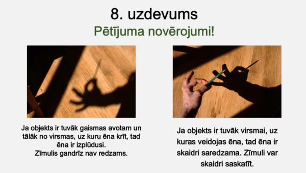 Gaisma un ēna (1. – 2. kl.)