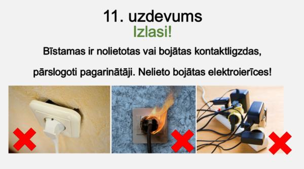 Vadītāji un izolatori, elektrodrošība(2. – 3. kl.)