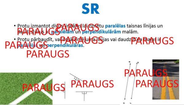 """""""Paralēlas un perpendikulāras taisnes"""". 4.klase. Matemātika"""