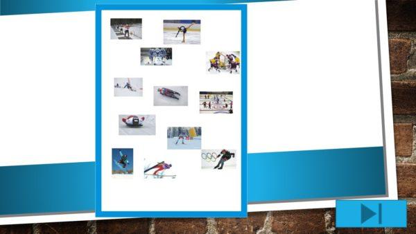 Interaktīvs mācību līdzeklis – Ziemas sporta veidi