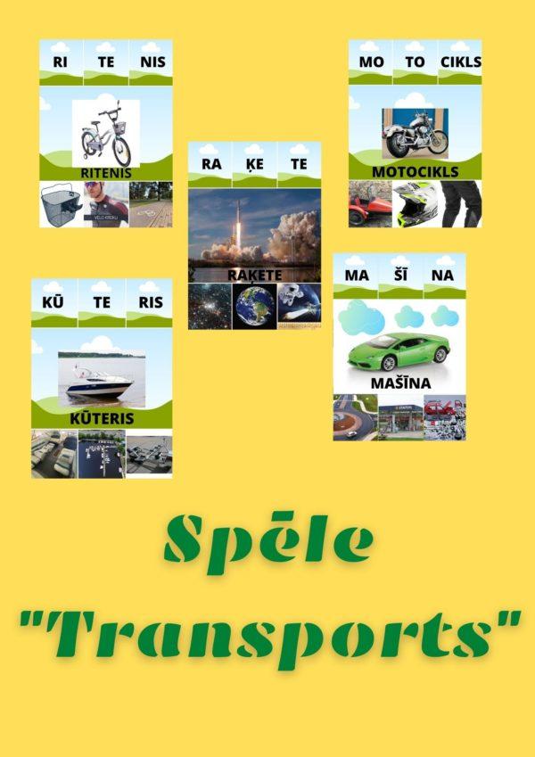 """Spēle – """"Transports"""""""