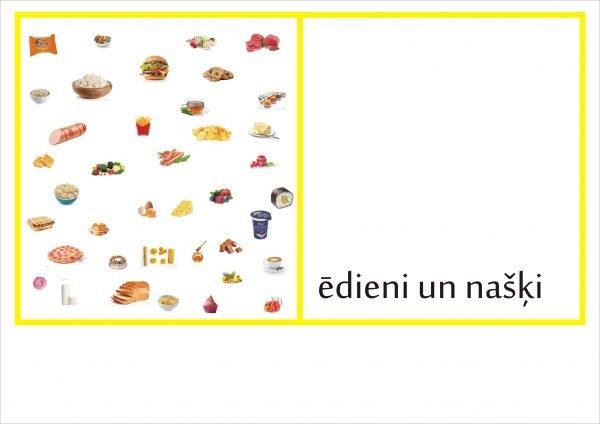 Definīciju grāmatiņa – Ēdieni un našķi