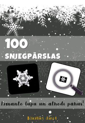 100 SNIEGPĀRSLAS – ATROD PĀRUS