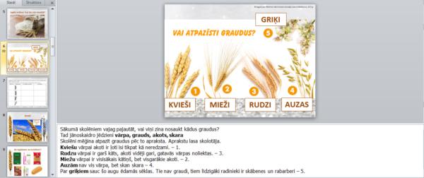 2.daļa 1.kl.Kā cep maizi? – Kur rodas milti?