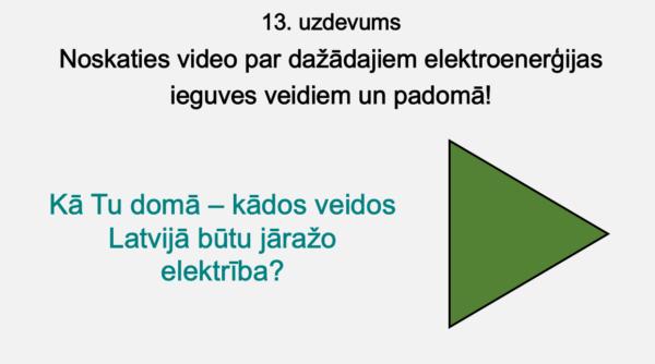 Kur rodas elektroenerģija? (4. – 5. kl.)