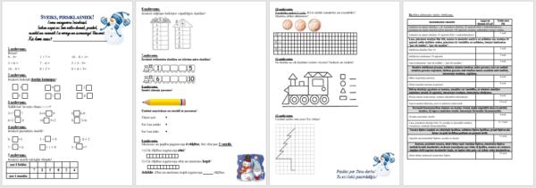 Matemātikas PD 1.klasei