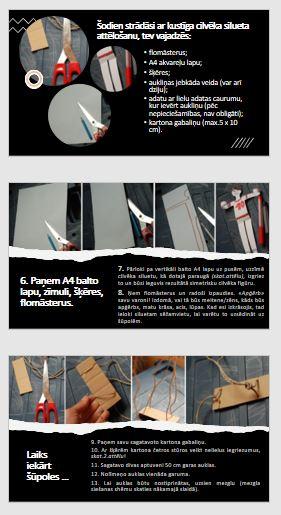 Vizuālā māksla 2.klasei-Ainava ar kustīgu cilvēka siluetu 3D
