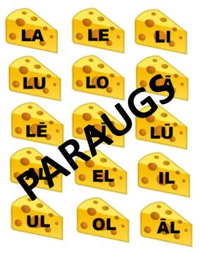 Pelīšu siers. Skaņu L un R diferencēšana