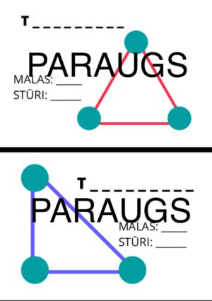 Ģeometrisko figūru kartiņas