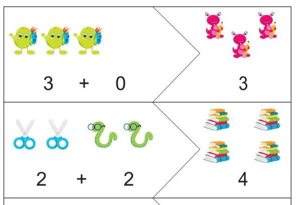 Saskaitīšanas puzle