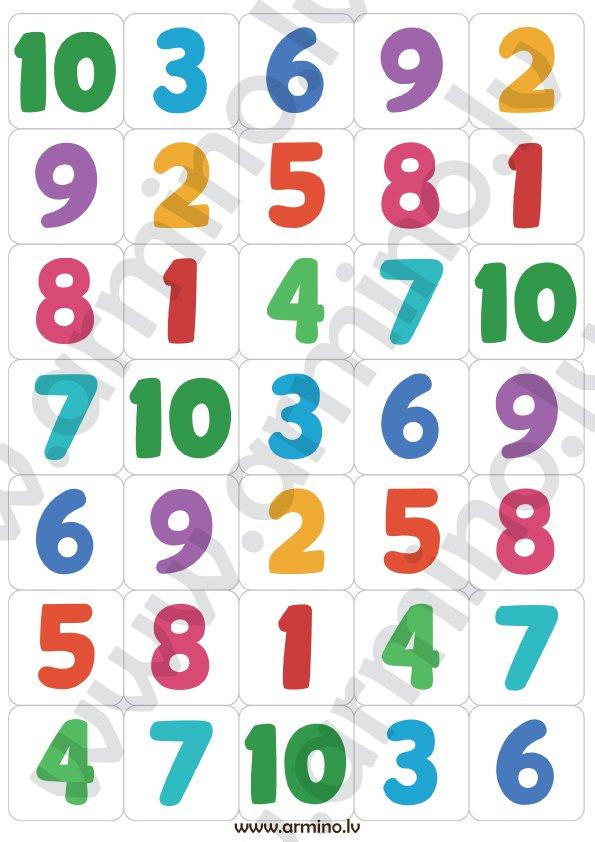 """Loto """"Skaitļa sastāvs"""""""