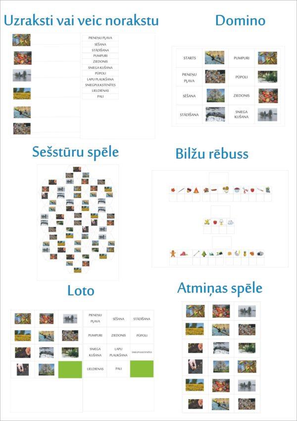 Valodas materiāls – pavasaris