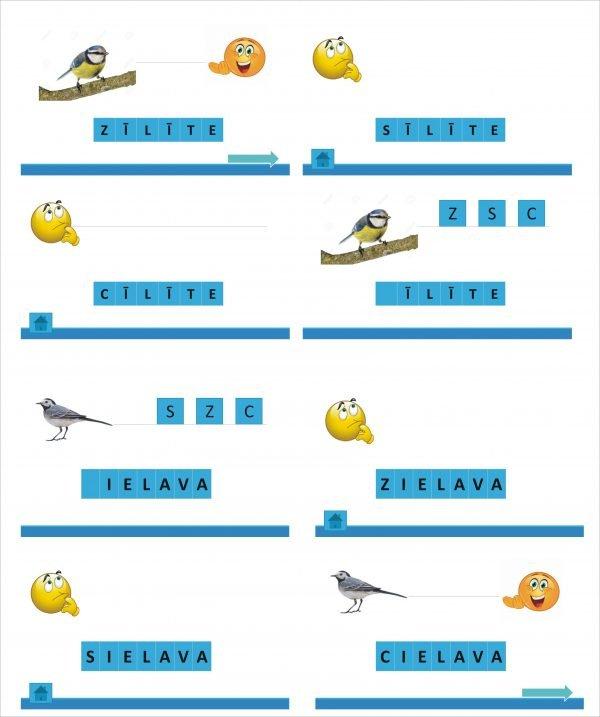 Putni PP interaktīvs mācību līdzeklis