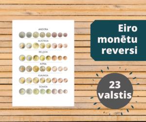 Eiro monētu reversi