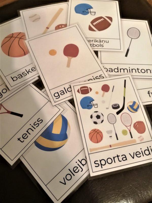 Sporta veidu kartītes