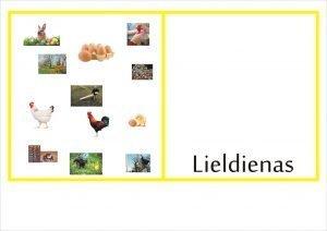 Definīciju grāmatiņa LIELDIENAS