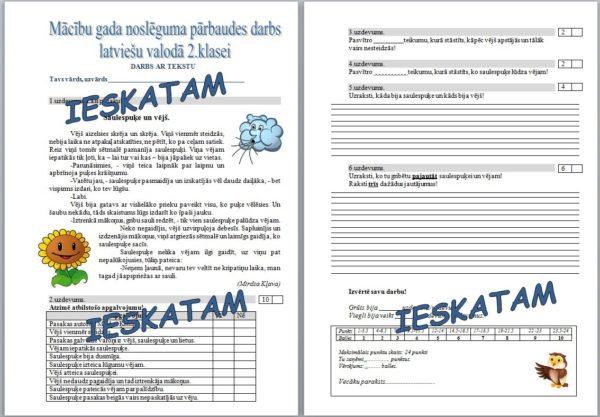 PD latviešu valodā – darbs ar tekstu(mācību gada noslēgums)