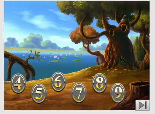 Noslēpumainā mežā- skaitla sastāvs 4 – 9