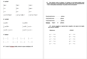 Matemātika – ceļā uz 5.klasi!